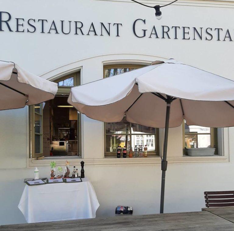 Restaurant Gartenstadt mit Pavillon | KMU Angebot Baselland, #corona