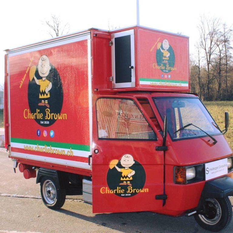 Charlie Brown Food-Truck | KMU Angebot Baselland, #corona