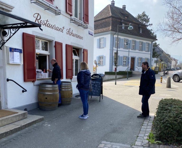 Osteria Schwanen | KMU Angebot Baselland, #corona