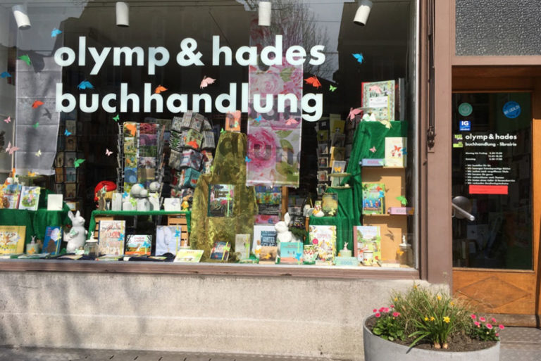 olymp & hades buchhandlung | KMU Angebot Baselland, #corona