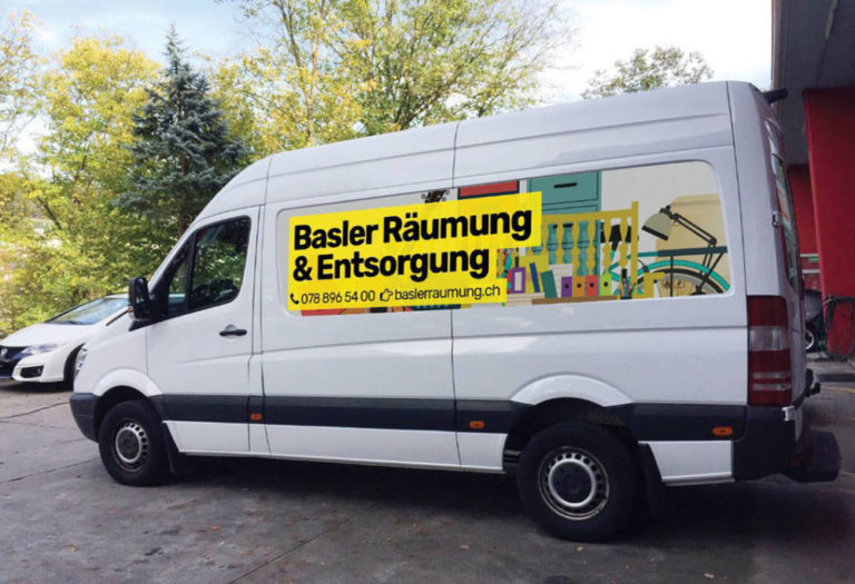Basler Räumung & Entsorgung | KMU Angebot Baselland, #corona